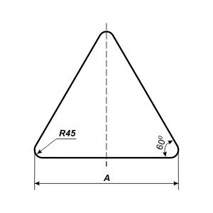 треугольный знак