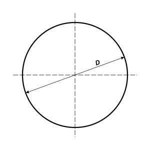 круглый знак