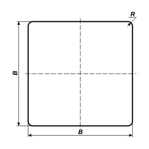 квадратный знак